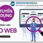 Tuyển dụng nhân viên seo web – Có cơ hội thăng tiến lên trưởng nhóm