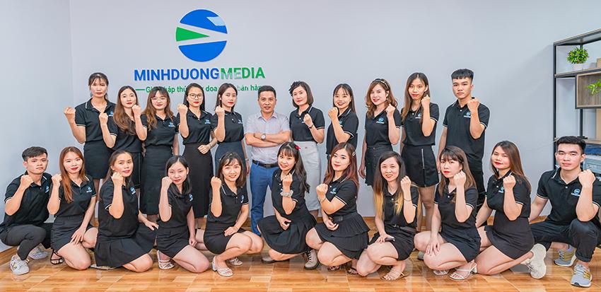 Đội ngũ nhân sự của Minh Dương Media